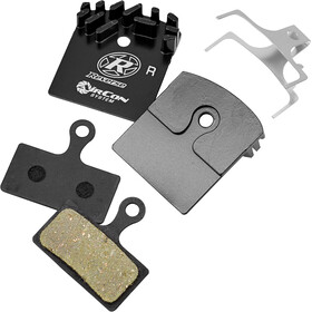 Reverse AirCon Brake Pad System for XTR 4 Pieces, black